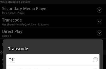 Plex Android app updated with remote control from mobile devices, new transcoding