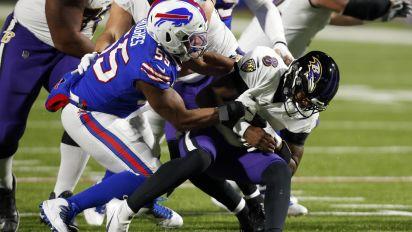 Bills defense dominant in win over Lamar, Ravens