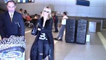 Heidi Klum arrives at LAX after romantic snow break with Vito Schnabel