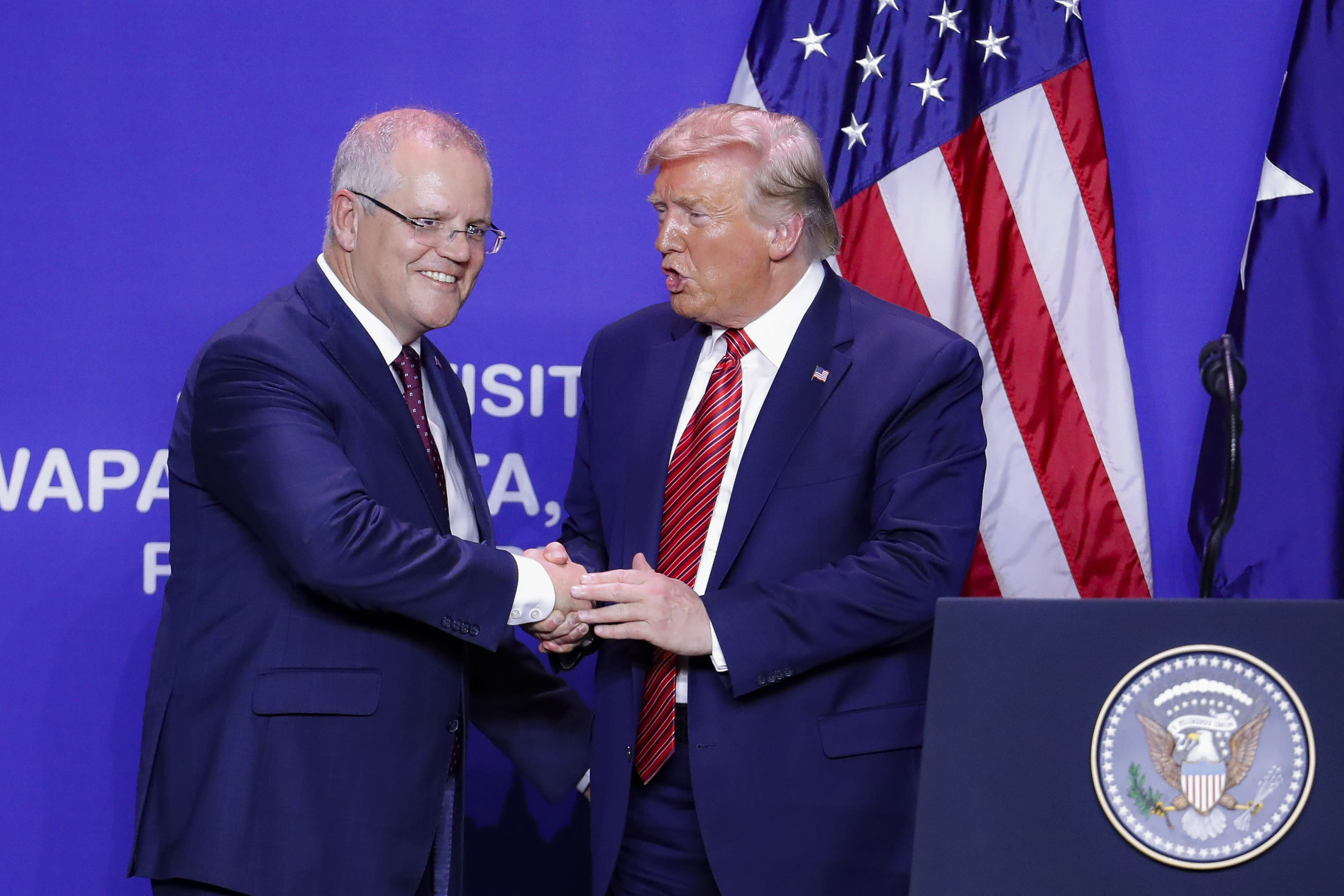 Australia PM says Trump wanted 'point of contact' for Russian Federation probe