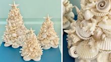 These Seashell Trees on Etsy Will Add a Nautical Vibe to Your Christmas Decor