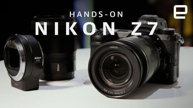 A closer look at Nikon's Z7 flagship mirrorless camera