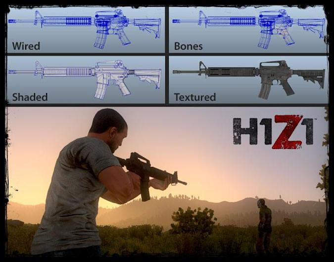 How 'feel' trumps realism in H1Z1's weapon design