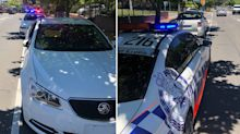 Why drivers applauded police for pulling over this Commodore driver