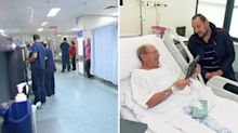 Changes to hospital visiting hours divides opinion