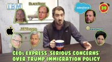 Business + Coffee: CEOs against Trump immigration policy, Google and Iran, P&G WTF