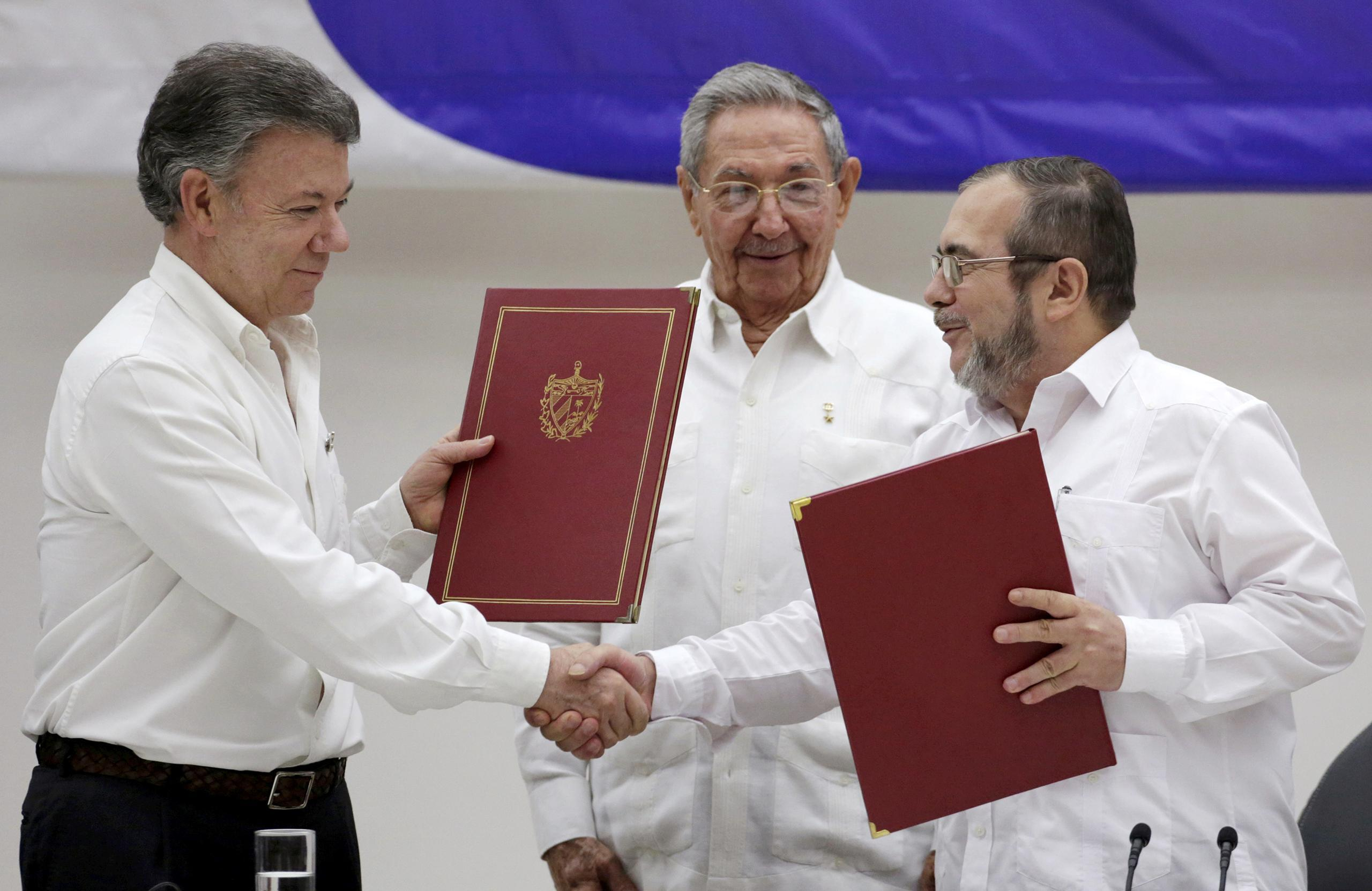 Colombian President Hails Obama For U.S. Support For Peace Deal