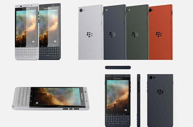 BlackBerry's second Android phone might look like this