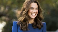 Kate Middleton Arrived in a Blue Sheath Dress at the Imperial War Museum for Surprise Event