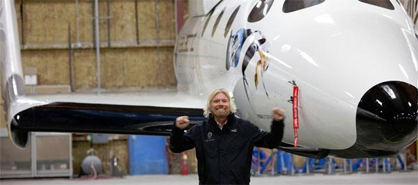 Virgin Galactic reveals SpaceShipTwo, plans commercial space flights in 2011