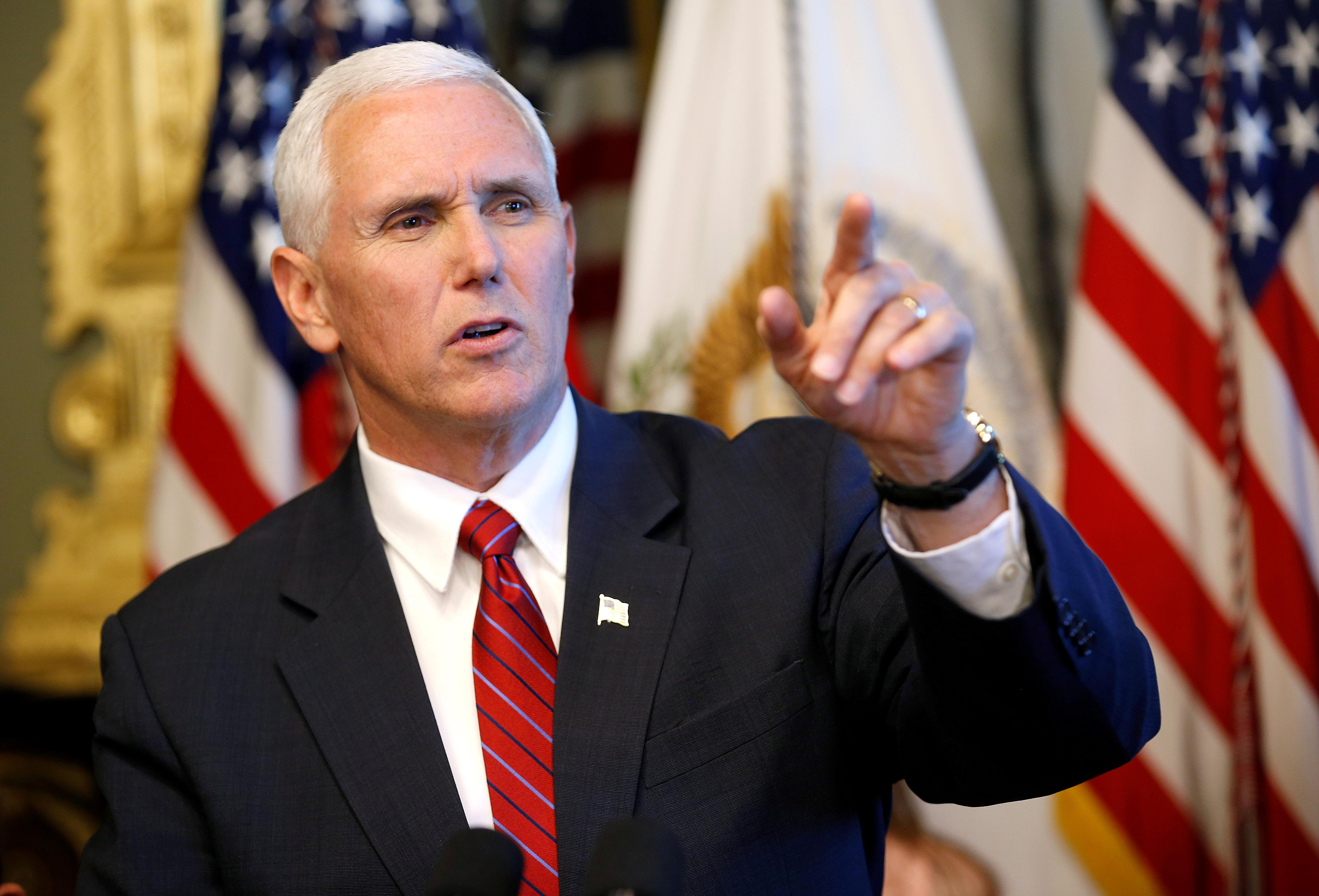 Mike Pence Promises Trump Won't Repeat Obama's 'Shameful' Mistake On Iran Protests