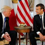 Did Trump Really Back Macron For French President?