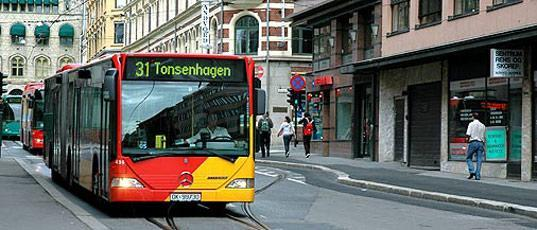 Oslo rolls out biomethane-powered busses
