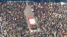 Thousands of protesters march through Fairfax district