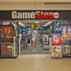 GameStop shares jump 6% as the company announces CEO George Sherman will step down in 3 months or sooner