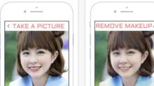 The make-up removal app causing controversy
