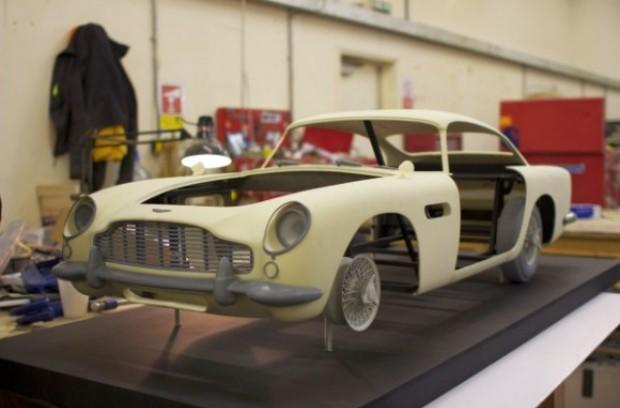 Voxeljet 3D printer used to produce Skyfall's Aston Martin stunt double