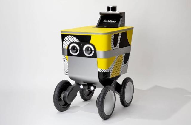 Postmates will test delivery robots on San Francisco sidewalks