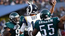 NFL Week 2 odds: Eagles-Rams point spread has been a roller-coaster ride all week