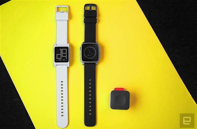 Pebble's new smartwatches focus on fitness