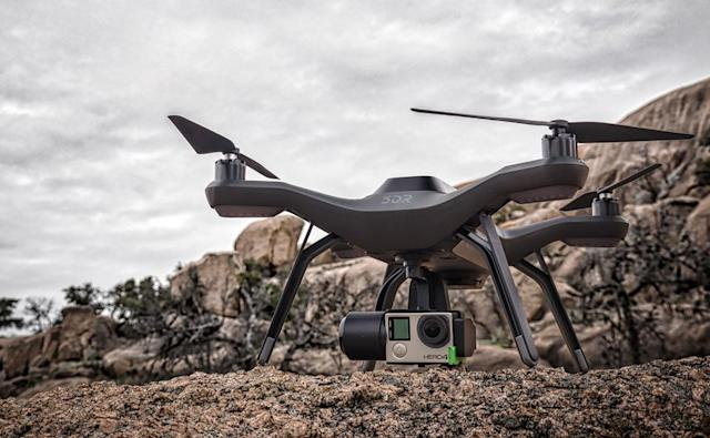 3DR's Solo drone can update no-fly zones in real time