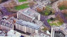 Londra, un milione di manifestanti per la City contro Brexit