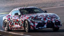 Toyota's new Supra driven on road and track