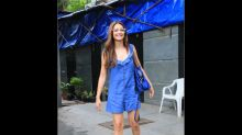 Kriti Kharbanda's Blue Outfit And Quirky Specs Can Instantly Lift Your Mood