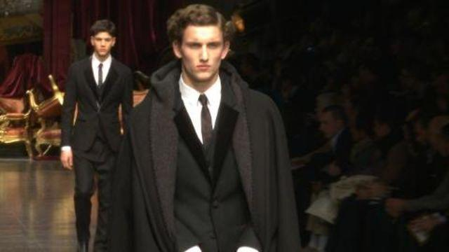 Style.com Fashion Shows - Dolce & Gabbana Fall 2012 Menswear
