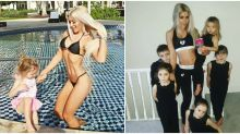Super-Fit Mom Fights Back After Critics Say She's Lying About Giving Birth to 5 Kids