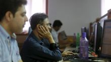 Nifty, Sensex lose steam, firm rupee drags IT