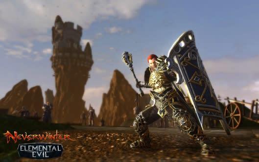 Neverwinter: Elemental Evil bringing the Paladin, higher level cap