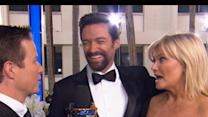 Golden Globes 2013: Hugh Jackman Talks Les Miserables Singing Marathons And Russell Crowe Parties