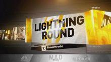 Cramer's lightning round: BlackBerry's CEO doesn't get en...