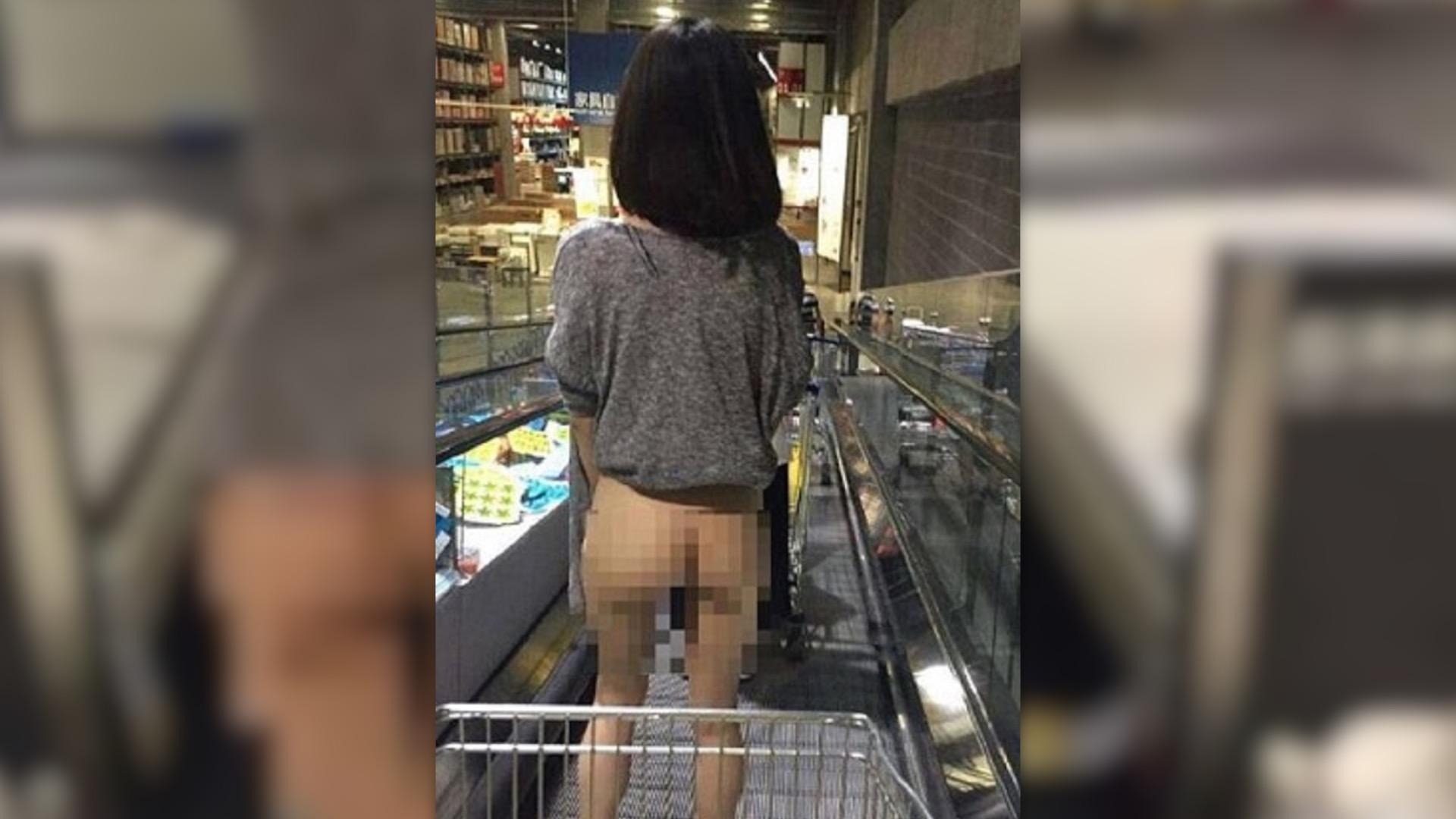 Al Entregar Una Pizza Sale Una Chica Desnuda una mujer china captada en foto mientras compra en ikea desnuda