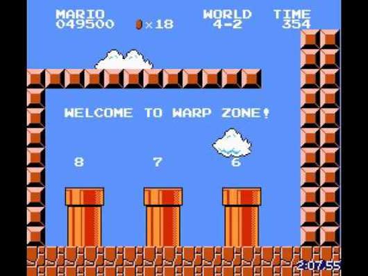 Record speedrun trumps Super Mario Bros. in under 5 minutes