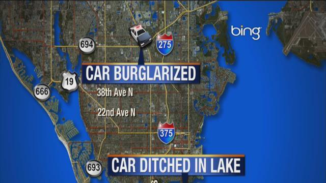 A burglar struck an unmarked sheriff's deputy's car and took guns, ammo, badge and vest