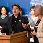 'A page out of Trump's book': After blocked visit, Tlaib gets emotional as Omar blasts Israel