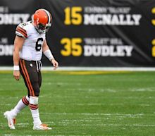 Baker Mayfield out, Case Keenum in for Browns
