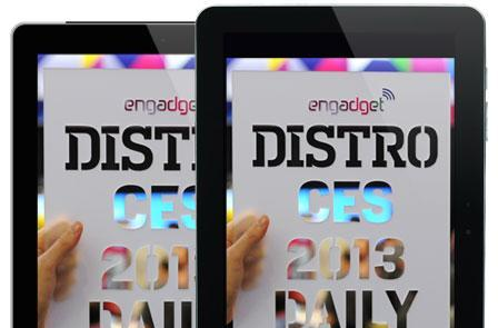 Distro's CES 2013 Daily Issue 73.3 has arrived!