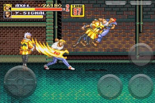Streets of Rage 2 now on iOS App Store for $2.99