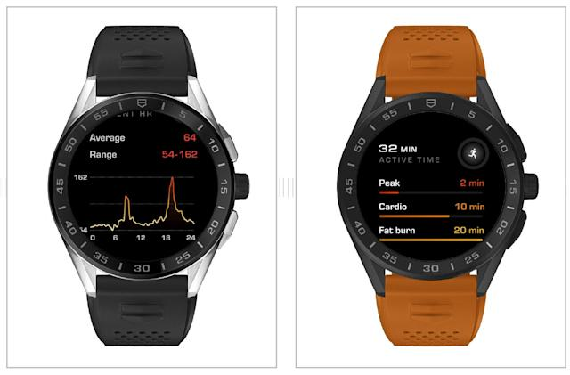 Tag Heuer's Connected watch now has its own wellness app