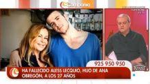 Ramón García rompe a llorar al mandar un mensaje a Ana Obregón tras la muerte de su hijo