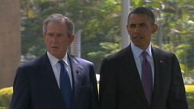 Obama, Bush Come Together in Africa