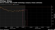 飛利浦股價大跌 業績不及預期並警告貿易戰將傷害公司利潤