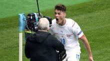 FOTO: Patrik Schick Cetak Dua Gol, Republik Ceko Sikat Skotlandia