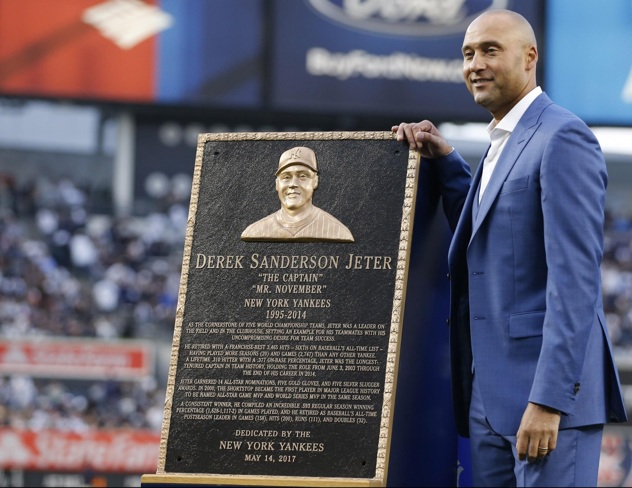 Derek Jeter's number retirement ceremony was peak Yankees