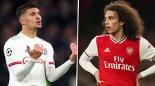 Arsenal told Guendouzi-Aouar deal won't happen as Lyon have no interest in Gunners midfielder