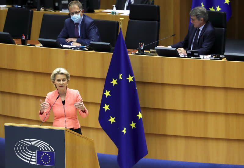 "EU chief executive decries ""LGBT-free zones"" in swipe at Poland"