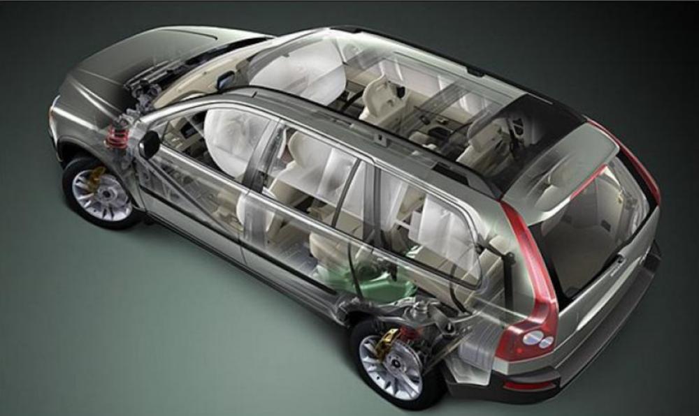 縱使第一代 Volvo XC90 問世時沒有現在新車有這麼多安全科技配備,但當時就以棚鋼打造車頂結構,且導入  RSC 車體翻滾防護系統。